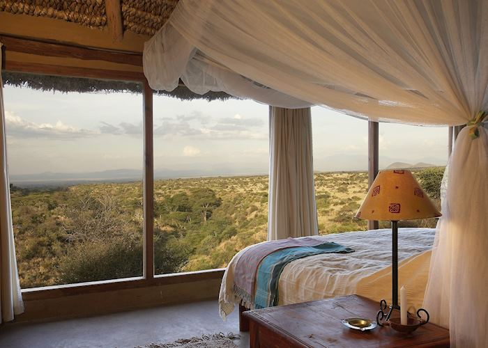 Lewa Wilderness Trails Hill room view