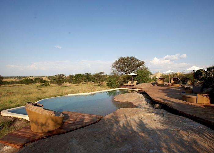 Pool at Sayari Camp