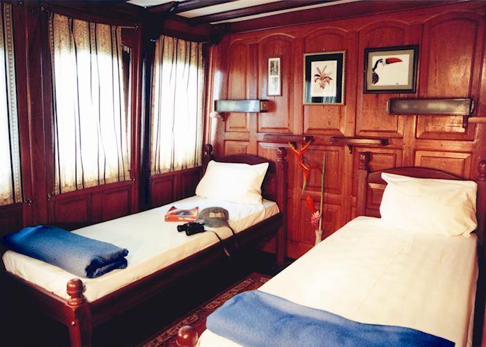 Standard cabin, M/Y Tucano, Manaus