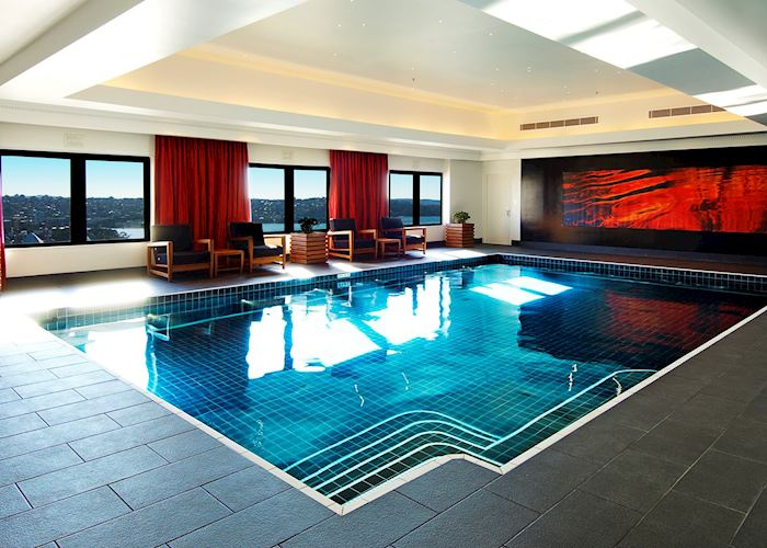 Pool at the Intercontinetal Hotel, Sydney