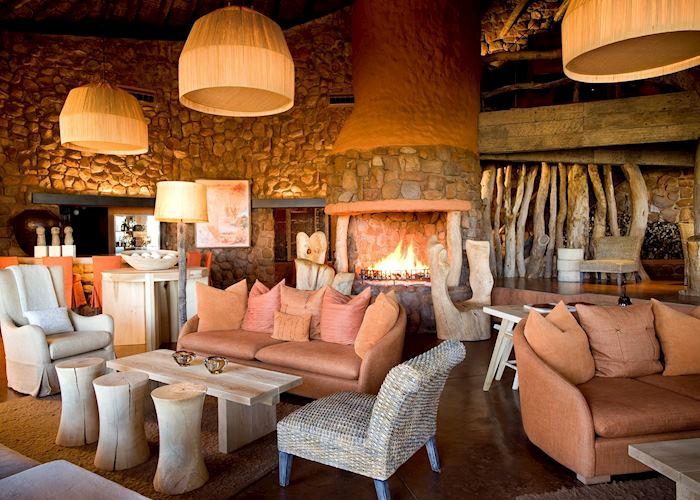 Motse Lounge, Motse Camp, Tswalu Kalahari Reserve