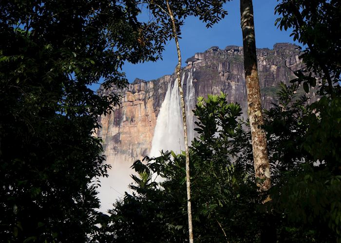 View from Angel Falls Base Camp