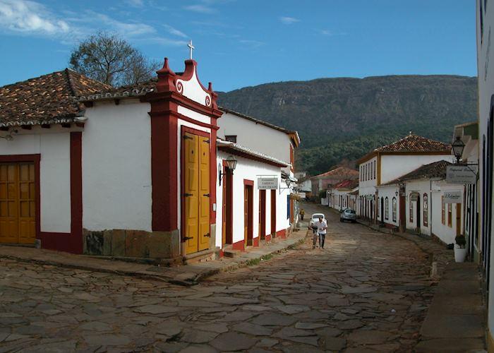 Tiradentes street scene, Brazil