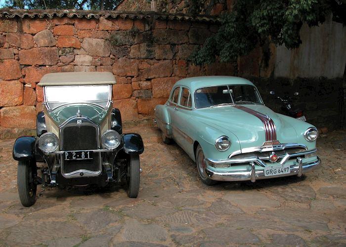 Classic cars, Tiradentes, Brazil