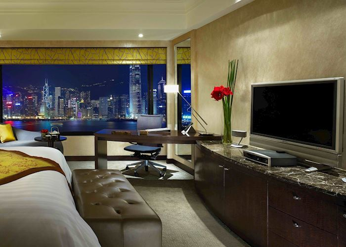 Contemporary Superior Harbour View Room, Intercontinental Hotel, Hong Kong