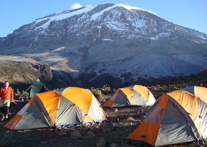 Mountain tents, Mount Kilimanjaro