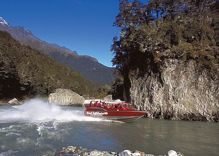 Dart River jet boat safari, Queenstown