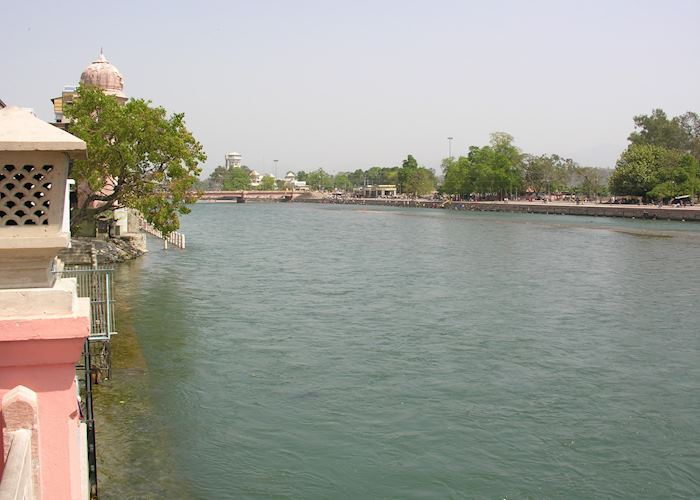 View from Haveli Hari Ganga, Haridwar