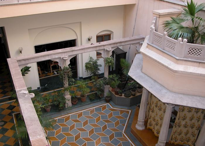 Courtyard at Haveli Hari Ganga, Haridwar