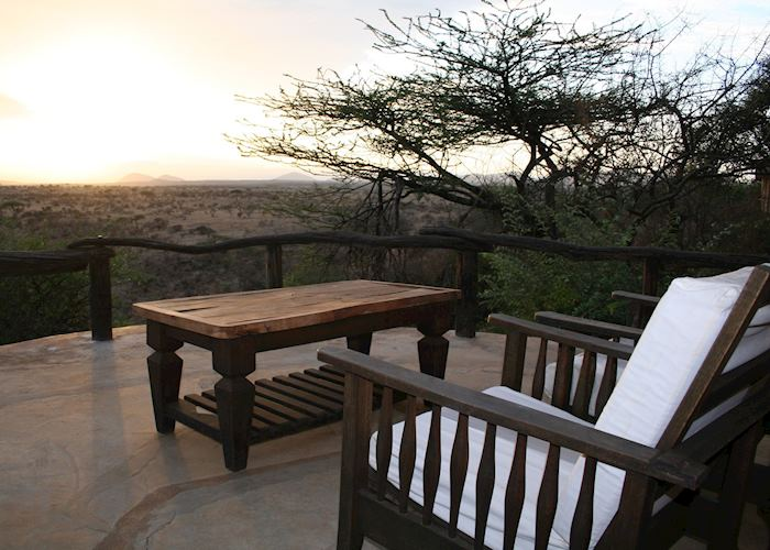 Sunset at Lewa Wilderness Trails, Lewa Wilderness Conservancy