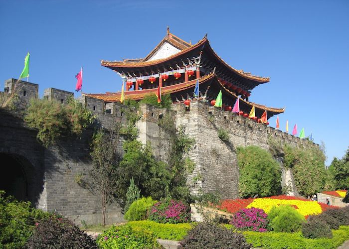 Dali city walls