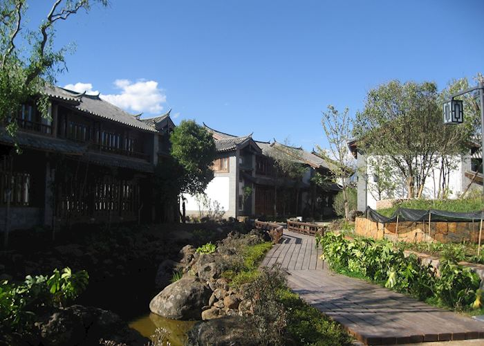 Grounds of the InterContinental, Lijiang