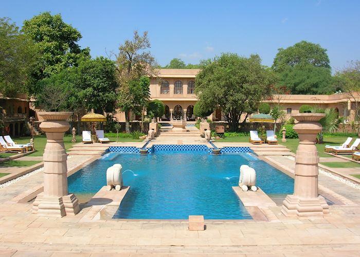Pool, Rajvilas, Jaipur