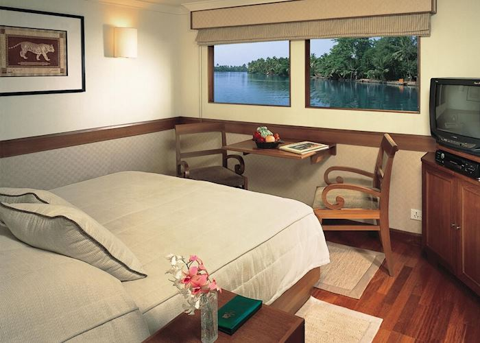 Luxury cabin, MV Vrinda, Cochin