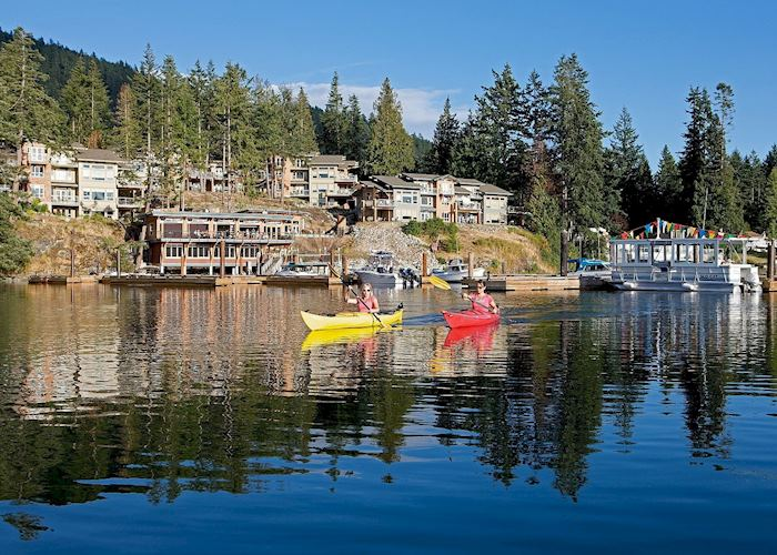 Kayaking at Painted Boat Resort Spa & Marina