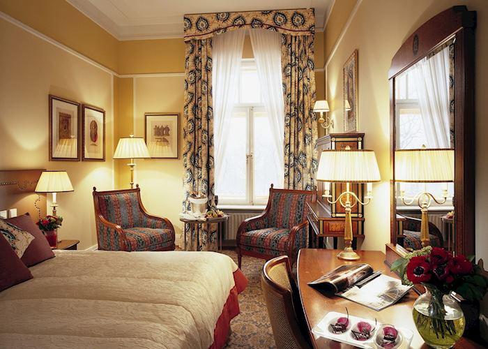 Classic superior room, Grand Hotel Europe, St Petersburg