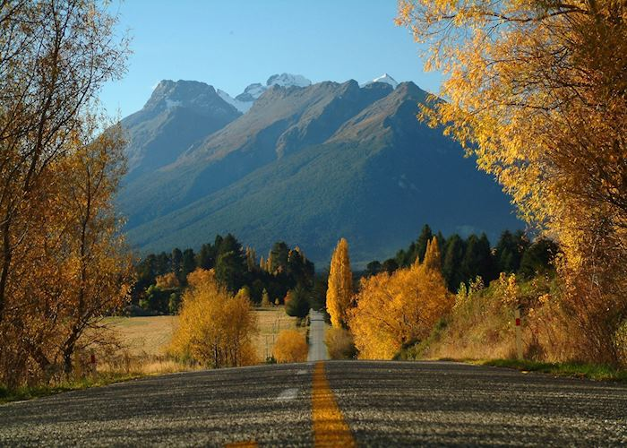 Travelling through Glenorchy & Queenstown