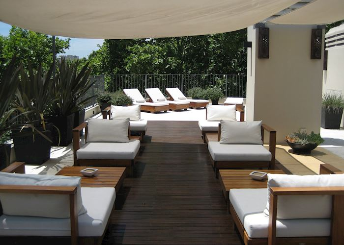Roof terrace, Hotel Nuss, Buenos Aires