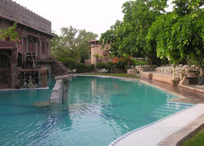 Pool, Ajit Bhawan Palace, Jodhpur
