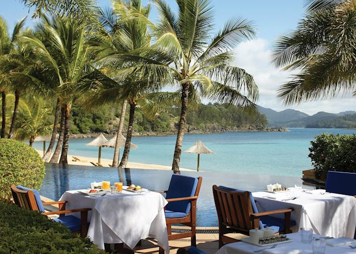 Breakfast at Hamilton Island Beach Club, Hamilton Island