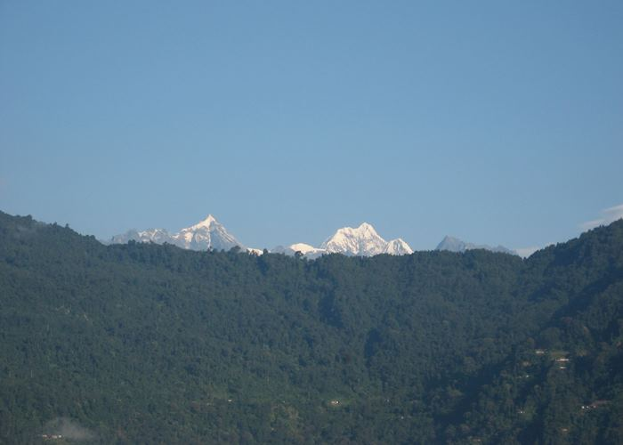 View from Norkhill Palace, Gangtok