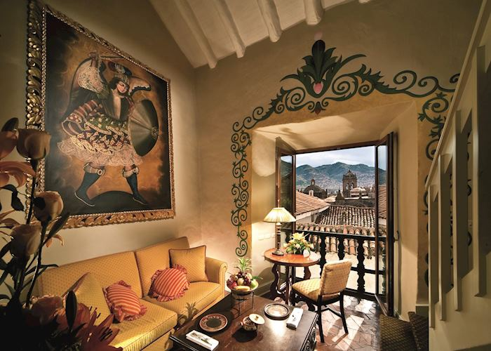 Junior Suite Living Area, Hotel Monasterio, Cuzco