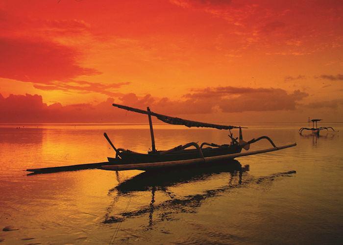 Jimbaran Bay sunset, Indonesia