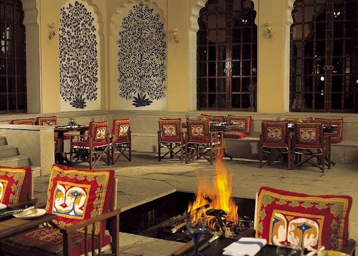 Restaurant, Vanyavilas, Ranthambhore National Park