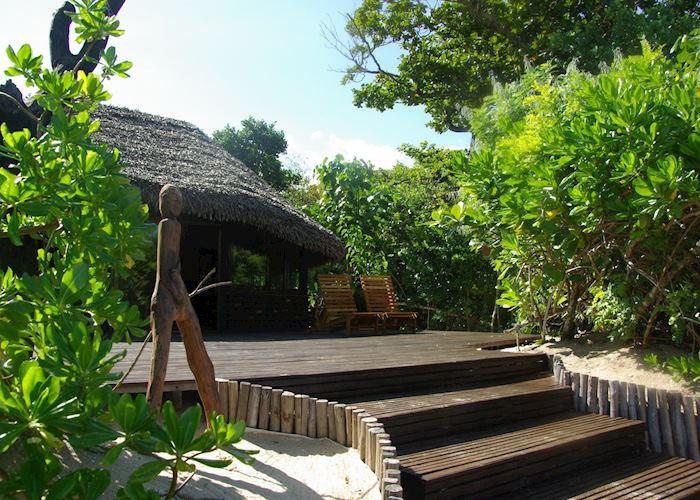 A chalet at Manafiafy Beach and Rainforest Lodge