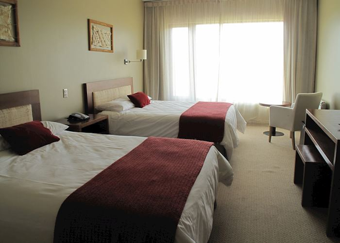 Superior room, Hosteria Rio Serrano