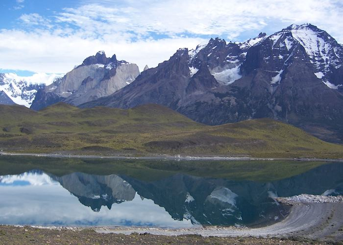 View of the Paine Massif
