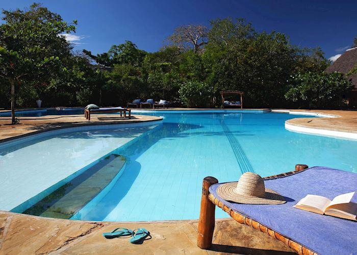 Pool at Kinondo Kwetu
