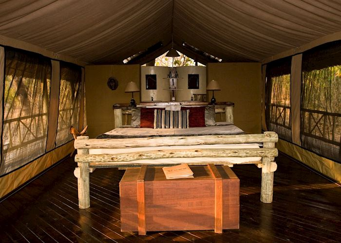 Luxury Tent, Katavi Wildlife Camp