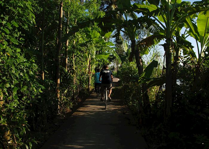 Exploring the Mekong Delta by bike is a great way of getting off the main tourist trail, Can Tho