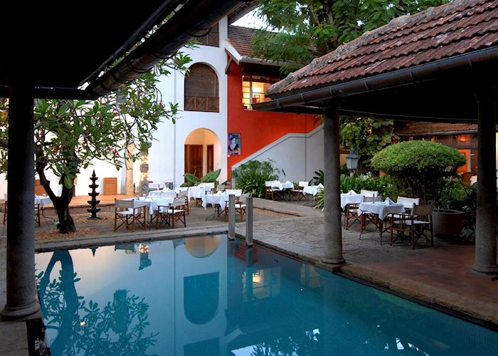 Pool at Malabar House, Cochin