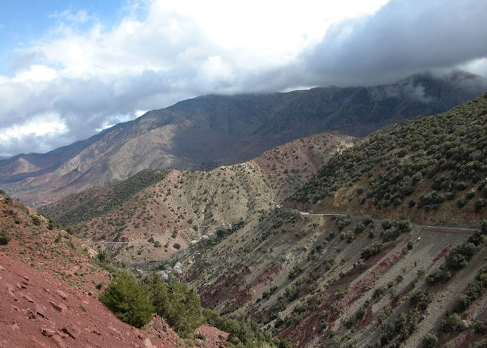 Tizi-n-Test Pass, High Atlas