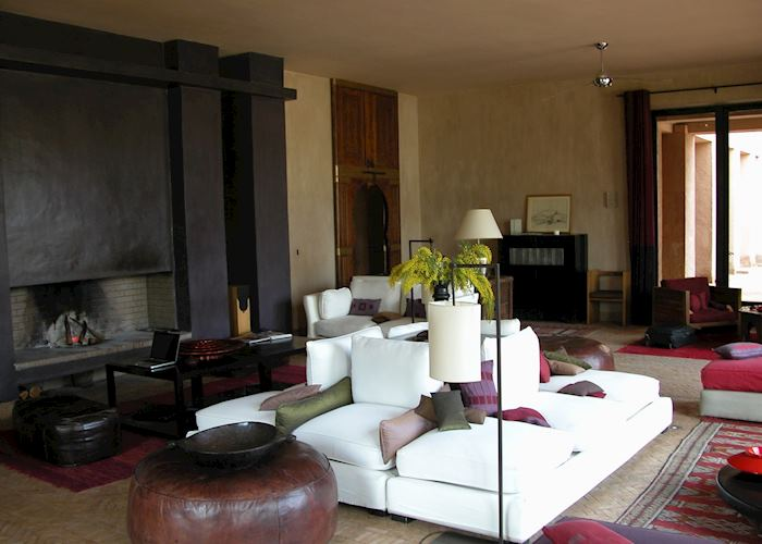 Living Room, Dar Ahlam, Skoura