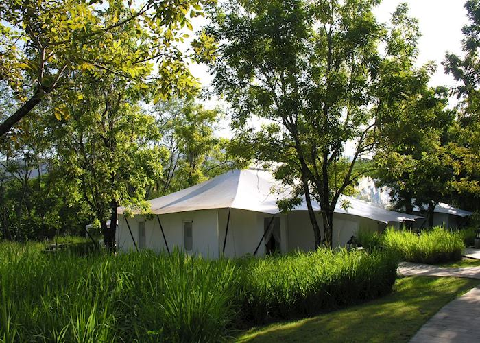 Tented Villa, Kirimaya Resort, Khao Yai National Park