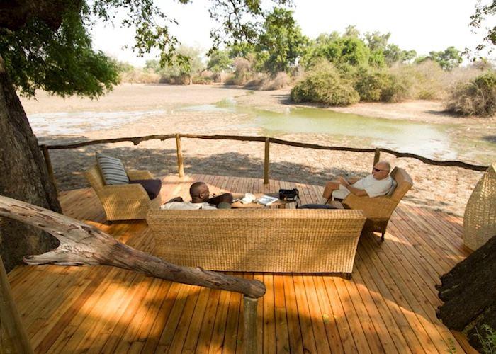 Viewing deck at Kanga Bush Camp