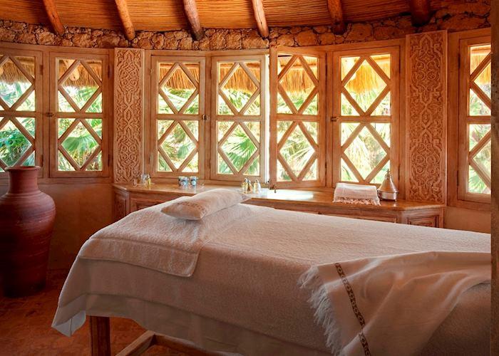 Massage cabin, La Sultana, Oualidia