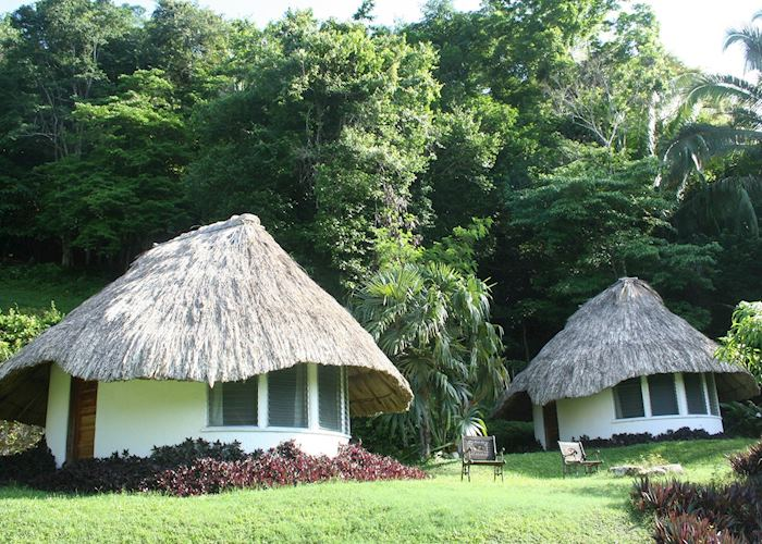 Thatched Cabanas at Pook's Hill