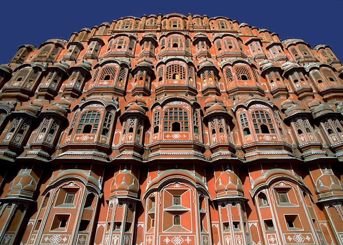 Facade of the Palace of the Winds, Jaipur