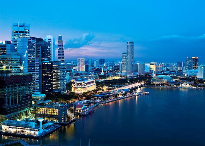 One Fullerton area, Singapore