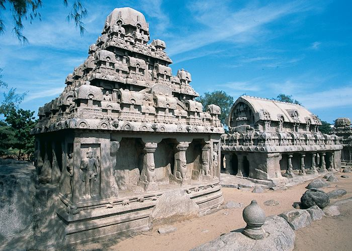 The Five Rathas, Mahabalipuram