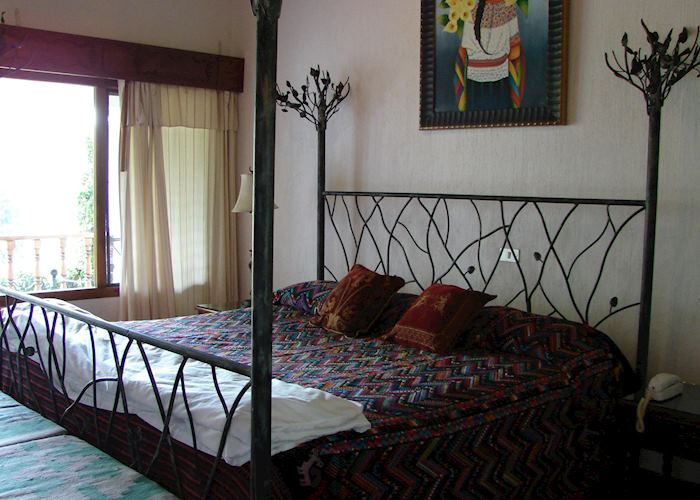 Standard room, Hotel Atitlan, Lake Atitlan
