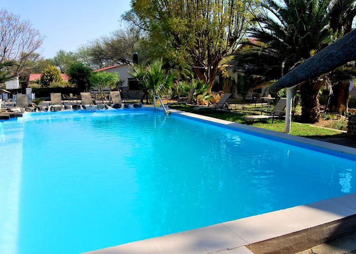 The pool at The Elegant Farmstead