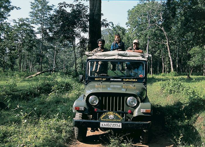 Guide & drivers Nagarhole National Park, India
