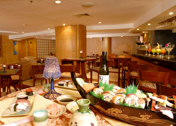 Hampton Inn sushi bar, Guayaquil