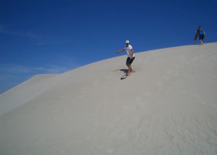 Sand surfing, Lower Eyre Peninsula