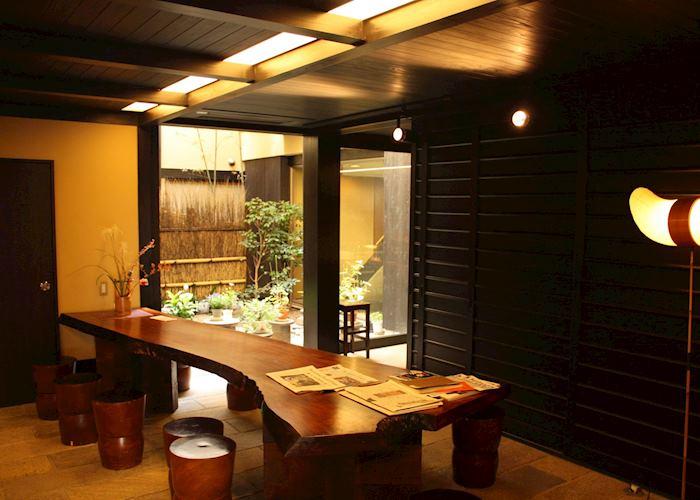 Lobby, Sakura Ryokan, Kyoto